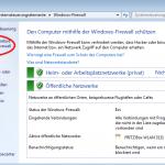 Windows Firewall / Ausnahme hinzufügen