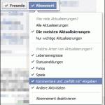"""Beenden des Abos für Kommentare und """"Gefällt mir""""-Angaben"""