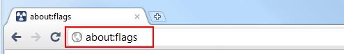 Aufruf der Browser-Konfiguration